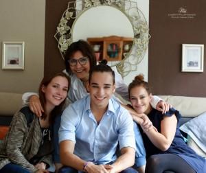 Doris Lenhard Privat mit Kindern